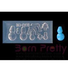 3D Acylic Nail Art Mold Pottery Shape Nail Mould DIY Manicure Decoration -33