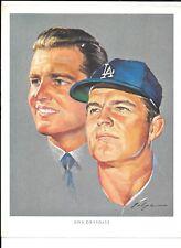 1964 Union Oil Los Angeles Dodgers Volpe Portraits   NRMT    Don Drysdale