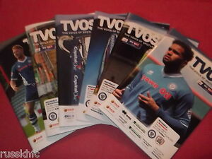 2015/16 - ROCHDALE HOME PROGRAMMES CHOOSE FROM