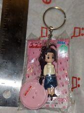 Anime Figure Key Ring Love Hina Mutsumi Otohime 2002 Sega Prize b