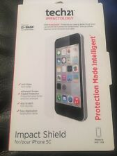 Genuine Tech21 Impact Shield Self Heal Screen Protector  For iPhone SE 5S 5C 5