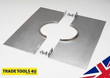 "CLAMP PLATE TO FIT A 4"" FLUE LINER/GAS COWL/GC1 - BRAND NEW - UK MADE!"