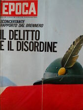 EPOCA n°834 1966 Audrey Hepburn - Claudia Cardinale - Silvana Mangano [C80]