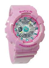 Casio BA110CA-4A Baby-G Black Analog Digital Pink Women Watch