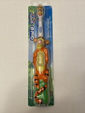 Oral-B Stages Power Disney Winnie The Pooh Tigger Battery Toothbrush *NEW in box