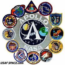 Authentic AB Emblem - APOLLO 1,7,8,9,10,11,12,13,14,15,16,17 NASA PATCH COLLAGE