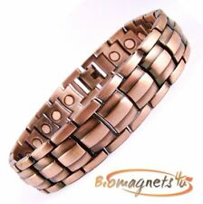 TOP QUALITY COPPER BIO MAGNETIC  RELAXATION BRACELET-ARTHRITIS PAIN RELIEF + BOX