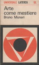 MUNARI Bruno - Arte come mestiere