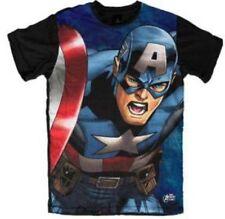 Captain America Mens Tee Shirt- Official Licensed Australian Stock  X Large SALE