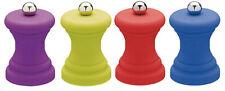 Colourworks Kitchen Craft Small Mini Soft Touch Salt / Pepper Hand Mill Grinder