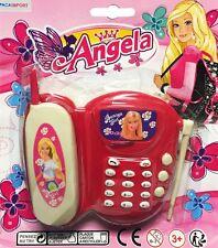 TELEPHONE FIXE SUR SOCLE PRINCESSE SON ET LUMIERE JOUET