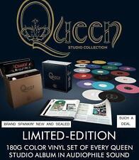 QUEEN STUDIO COLLECTION - EXCLUSIVE  LTD. EDITION, COLORED,180 Gram 18-LP,BOXSET