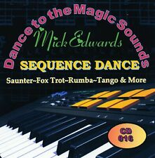 """Sequence Dance CD~DANCE TO THE MAGIC SOUNDS~Mick Edwards """"New FREE POSTAGE UK""""."""