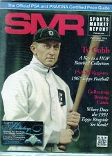 New listing FEBRUARY 2014 TY COBB COVER SMR PSA SPORTS MARKET REPORT PRICE GUIDE  MINT
