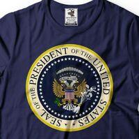 Trump Parody Presidential Seal 45 Puppet T-Shirt USSR Russian Anti Trump T-shirt