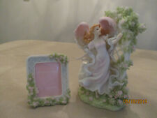 """Seraphim Classics, """"Mia in The Rose Garden"""" with Matching Picture Frame, Excelle"""