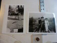 Vintage Photo-2 Photos Sweitzer Album Dorney Park 5/1930 Allentown PA 1993