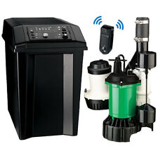 Myers MBSP-3C - 1/2 HP Combination Primary & Backup Sump Pump System w/ Remot...