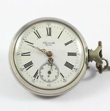 Vintage pocket watch J.Barth & fils Geneve rare 19th century swiss watch