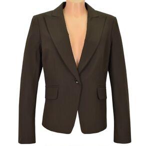 Mexx Damen Blazer Sakko Kostüm Bussines Jacke Anzug Kombination Stretch braun