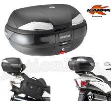 TRUNK BAULETTO KAPPA MONOKEY K53 53N BLACK 53 L MOTORCYCLE SCOOTER UNIVERSAL