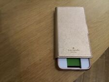 Kate spade iPhone XR leather wrap/folio case + snap on RRP £85 - Damaged Box