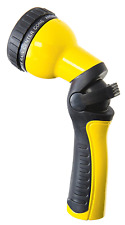 Dramm 14503 Revolution 9-Pattern Spray Gun Yellow Hose Nozzles Wands Watering