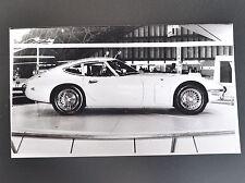 ✇ TOYOTA  2000GT Pressefoto 1965 Tokyo Motor Show