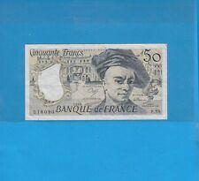 50 Francs  QUENTIN DE LA TOUR  1989  Alphabet   P.58
