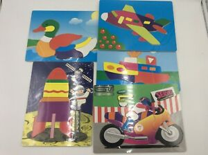 Childrens Jigsaw Puzzles Transport 8-12 Pieces