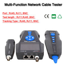 Noyafa NF-8601S TDR Cable Length Tester Wire Tracker POE &PING RJ11 BNC Detector