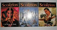Le Scorpion BD 1.2.3 Première édition neuf de Marini