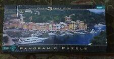 Buffalo Panoramic Puzzle Over 3' Wide * 750 piece PORTOFINO ITALY * New Sealed *
