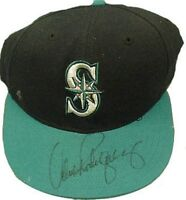 Alex Rodriguez Signed Game Worn/ Used Seattle Mariners Vintage 1996 Hat Cap COA