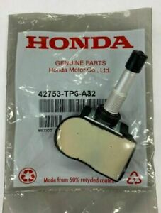 Set of 4 Genuine Honda OEM TPMS Tire Pressure Sensor Kit 42753-TP6-A82 - New