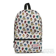 VANS x MARVEL HEADS Calico Small Backpack (NEW) Avengers - SCHOOL BAG Free Ship!