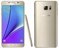 """32 Go Samsung Galaxy Note 5 SM-N920A 5.7"""" Débloqué d'usin  TéléPhone-Doré"""