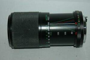 VIVITAR MC  70-210 MM ZOOM LENS.   PENTAX P/K-A  BAYONET   FITTING :
