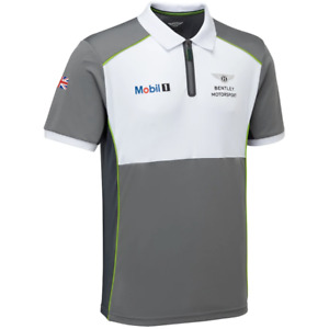 Bentley Motorsport TEAM Polo-Shirt ADULT Free UK Ship