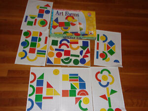 2007 Discovery Toys Art Forms Complete Educational Childrens Ages 24 Months +