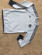 Adidas Sporting Kansas City KC Soccer Long Sleeve Blue Shirt - Small