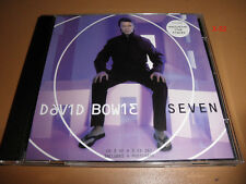 DAVID BOWIE single SEVEN cd + 4 POSTCARDS (exclusive LIVE tracks)