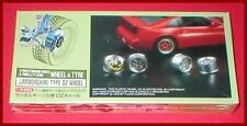 Fujimi Wheel & Tire Set 17 inch Lamborghini Type OZ #2 1/24 Scale Model Kit