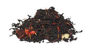 Sweet Cherry Almond Black Tea - Loose-Leaf Luxury Breakfast Tea - 60g - 80g