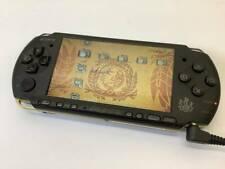 USED Sony PSP 3000 Monster Hunter Portable 3rd Matte Black & Gold No Battery
