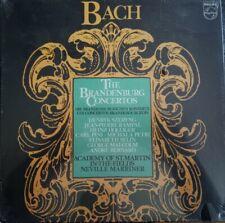 BACH -THE BRANDENBURG CONCERTOS  HENRYK SZERYNG  '81 Philips Classical PROMO NEW