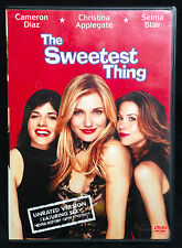 The Sweetest Thing (DVD, 2002) Widescreen, UNRATED, LIKE NEW - PLAYED ONCE!