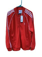 Red 2Xl adidas Track Top The Brand With The Three Stripes