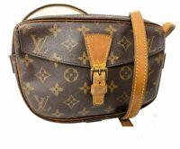 Authentic Louis Vuitton Monogram Jeune Fille Shoulder Bag LV 60025615