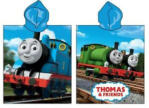 Thomas the Tank Engine and Friends Kids Children Hooded Beach Towel Poncho